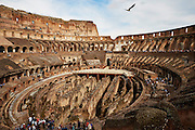 Colosseum.<br /> <br /> Bilder av kulturskatter i Roma til boka Roma, historiske vandringer.  Skrevet av Nils Jøran Riedl, utgitt på  Gursli Berg forlag.