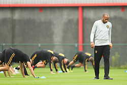 September 5, 2018 - Tubize, BELGIUM - Belgium's assistant coach Thierry Henry pictured during a training session of Belgian national soccer team the Red Devils in Tubize, Wednesday 05 September 2018. The team is preparing for a friendly match against Scotland on 07 September and the UEFA Nations League match against Iceland on 11 September. BELGA PHOTO BRUNO FAHY (Credit Image: © Bruno Fahy/Belga via ZUMA Press)