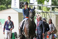 Scholtens Emmelie, NED, Apache<br /> CDI 3* Grand Prix - CHIO Rotterdam 2017<br /> © Hippo Foto - Sharon Vandeput<br /> Scholtens Emmelie, NED, Apache