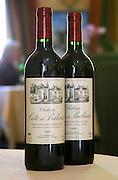 Restaurant Le Clos du Roy. Chateau Cote de Baleau 1999. Saint Emilion, Bordeaux, France