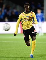 Fotball , 29 . oktober 2017 , Eliteserien , <br /> Sarpsborg - Sandefjord 5-0<br /> Elhadji Gana Kane , sandefjord