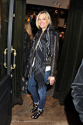 KIM HERSOV at a reception hosted by Ralph Lauren Double RL and Dexter Fletcher before a private screening of Wild Bill benefitting FilmAid held at RRL 16 Mount Street, London on 26th March 2012.
