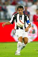 Bari 3/8/2004 Trofeo Birra Moretti - Juventus Inter Palermo. <br /> <br /> Alessandro Del Piero Juventus<br /> <br /> Risultati / results (gare da 45 min. each game 45 min.) <br /> <br /> Juventus - Inter 1-0 Palermo - Inter 2-1 Juventus b. Palermo dopo/after shoot out <br /> <br /> Photo Andrea Staccioli