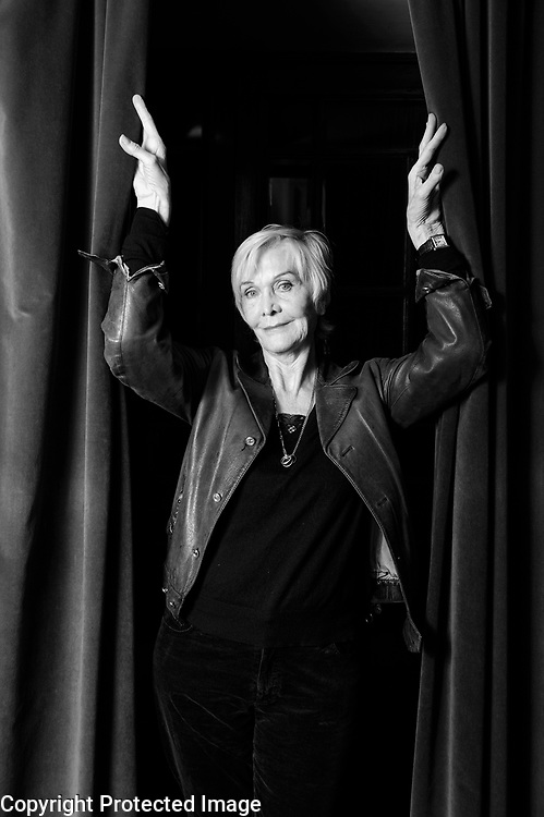 Spi0013051.ST.Interview with Actress Sheila Hancock at the London Palladium Theatre