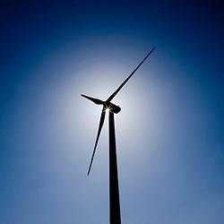 Belgium - June 2009 - Wind Power - Energy - Sun - Blue Sky - Green Power - Nature - Electricity .. .© Scorpix / P.Mascart.