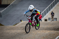 2021 UCI BMXSX World Cup<br /> Round 3 and 4 at Bogota (Colombia)<br /> Friday Practice<br /> ^we#91 VANHOOF, Elke (BEL, WE) Zulu