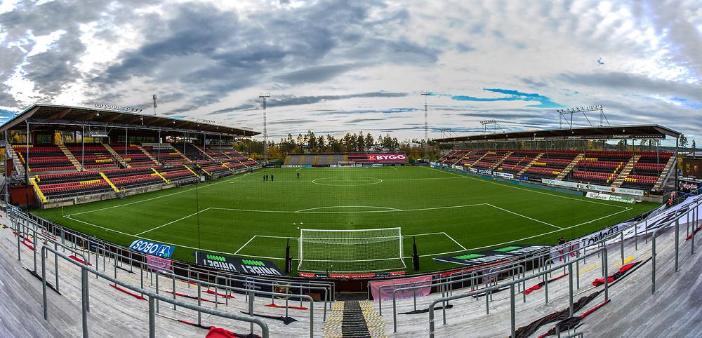 ÖSTERSUND 20210925<br /> Panorama över Jämtkraft Arena inför söndagens fotbollsmatch i allsvenskan mellan Östersund FK och Djurgårdens IF på Jämtkraft Arena.<br /> Foto: Per Danielsson/TT kod 11910