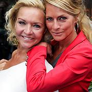 NLD/Amsterdam/20120923- Premiere musical De Jantjes, Mariska van Kolck en Millika Peterzon