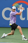 Sam Querrey at the 2021 Citi Open. Photo by Kyle Gustafson