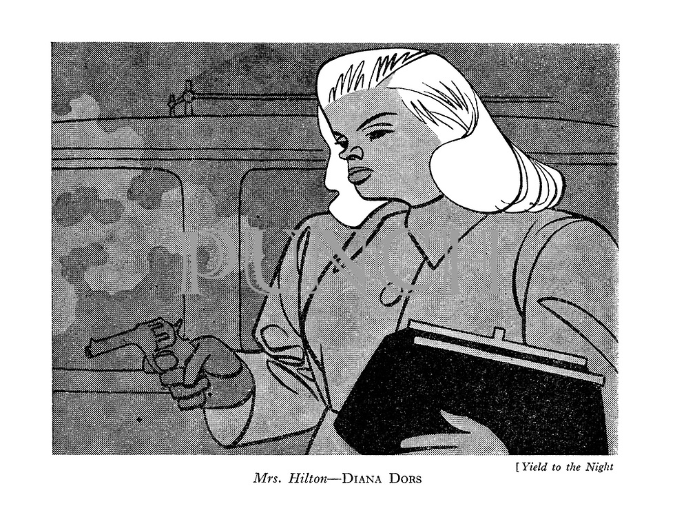 (Yield to the Night Mrs. Hilton - Diana Dors)