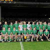 25/02/12<br /> The Limerick team who played Clare in the Allianz Hurling League, Division 1B, Round 1 at the Gaelic Grounds, Limerick. <br /> Pic: Don Moloney/Press 22