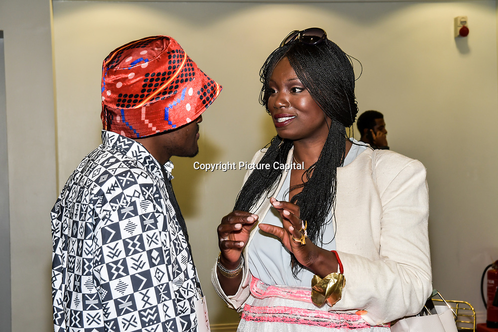 The Business of African Fashion at WISH Africa Expo, a showcase of Pan-Africanism at Olympia Conference Centre on 9 June 2019, London, UK.