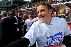 16-05-2010 VOETBAL: FC UTRECHT - RODA JC: UTRECHT<br /> FC Utrecht verslaat Roda in de finale van de Play-offs met 4-1 en gaat Europa in / Hans Somers<br /> ©2010-WWW.FOTOHOOGENDOORN.NL