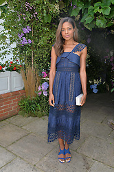 NAOMIE HARRIS at The Royal Salute Coronation Cup Polo held at Guards Polo Club,  Smiths Lawn, Windsor Great Park, Egham on 23rd July 2016.
