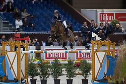 Liebherr Christina, (SUI), LB Eagle Eye<br /> Credit Suisse Grand Prix<br /> CHI de Genève 2016<br /> © Hippo Foto - Dirk Caremans<br /> 08/12/2016