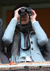 Kate Middleton at the Cheltenham Festival in 2007.    Photo by: Stephen Lock / i-Images