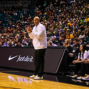 Mar 10 2019  Las Vegas, NV, U.S.A. Oregon head coach Kelly Graves on the floor during the NCAA Pac 12 Women's Basketball tournament championship between the Oregon Ducks and the Stanford Cardinals 57-64 lost at MGM Grand Garden Arena Las Vegas, NV.  Thurman James / CSM