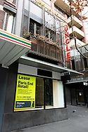 The economic cost of lockdown - a view of a For Lease sign on an empty Lygon Street during COVID-19. A further 238 Coronavirus cases have been discovered overnight, bringing Victoria's active cases to over 2000, speculation is rising that almost all of Victoria's current cases stem from the Andrews Government botched hotel quarantine scheme as well as the Black Lives Matter protest.  Premier Daniel Andrews warns that Victoria may go to Stage 4 lockdown if these high numbers continue. (Photo be Dave Hewison/ Speed Media)