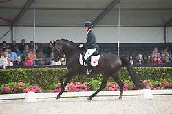 Fortmuller Pia, CAN, Frieda<br /> World Championship Young Dressage Horses <br /> Ermelo 2016<br /> © Hippo Foto - Leanjo De Koster<br /> 29/07/16