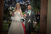 Photographs of Hannah & Matt's Wedding Day in Matlock  and Alison House, Cromford