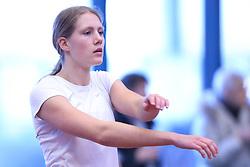 Anna Øbakke Lange. Danske Mesterskaber 2018 (Inde) i Spar Nord Arena, Skive, Denmark, 17.02.2018. Photo Credit: Allan Jensen/EVENTMEDIA.