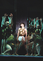 """Carlos Acosta in the Royal Ballet's production of George Balanchine's """"Prodigal Son"""""""