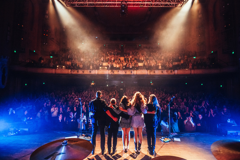 First Aid Kit at the Arlene Schnitzer Concert Hall in Portland OR, October 3, 2018. Photo by Jason Quigley