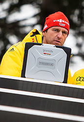 03.01.2013, Bergisel Schanze, Innsbruck, AUT, FIS Ski Sprung Weltcup, 61. Vierschanzentournee, Qualifikation, im Bild Werner Schuster, Trainer (GER) // Werner Schuster, Trainer (GER) during Qualification of 61th Four Hills Tournament of FIS Ski Jumping World Cup at the Bergisel Schanze, Innsbruck, Austria on 2013/01/03. EXPA Pictures © 2012, PhotoCredit: EXPA/ Juergen Feichter