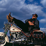 Richard Teerlink, President and CEO of Harley Davidson.