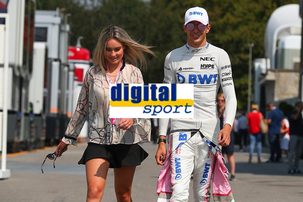 Esteban Ocon Racing Point Force India<br /> Monza 30-08-2018 GP Italia <br /> Formula 1 Championship 2018 <br /> Foto Federico Basile / Insidefoto