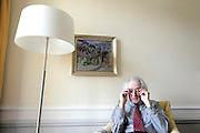 Dieter Senghaas, Politologe. © Adrian Moser