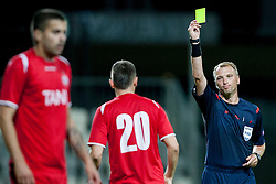 Refeere during football match between FC Koper (SLO) and Celik Niksic (MNE) in 2nd Leg of 1st Round of Qualification UEFA Europa League 2015 on July 10, 2013 in Bonifika, Koper, Slovenia. Photo by Urban Urbanc / Sportida