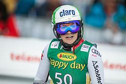 Michaela Dygruber (AUT) during second run at the Ladies' Slalom at 56th Golden Fox event at Audi FIS Ski World Cup 2019/20, on February 16, 2020 in Podkoren, Kranjska Gora, Slovenia. Photo by Matic Ritonja / Sportida