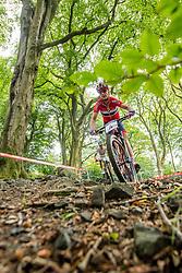 August 7, 2018 - Glasgow, UNITED KINGDOM - 180807 Gunn-Rita Dahle FlesjÃ¥ of Norway competes in the Women's Mountain Bike Cycling during the European Championships on August 7, 2018 in Glasgow..Photo: Jon Olav Nesvold / BILDBYRÃ…N / kod JE / 160288 (Credit Image: © Jon Olav Nesvold/Bildbyran via ZUMA Press)