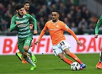 v.l. Florian Grillitsch, Sidney Sam  (Darmstadt)<br /> Bremen, 04.03.2017, Fussball, Bundesliga, SV Werder Bremen - SV Darmstadt 98 2:0<br /> Norway only