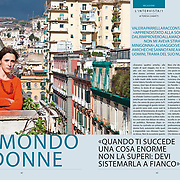 The Italian writer Valeria Parrella on 7 Corriere della Sera - Italy - September, 2020.
