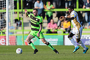 Forest Green Rovers Carl Winchester(7) runs forward during the EFL Sky Bet League 2 match between Forest Green Rovers and Milton Keynes Dons at the New Lawn, Forest Green, United Kingdom on 30 March 2019.