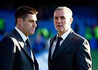 Steve Tilson Manager and Asst Manager Paul Brush. . Chelsea  Vs Southend United F A CUP 3rd Round  at  Stamford Bridge Stadium. 03/01/2009. <br /> Credit Colorsport / Kieran Gavin