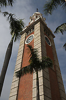 Hong Kong Clocktower - The historic clock tower was built in 1915 and was originally part of the Kowloon-Canton Railway Terminus.  Now the station is known as Kowlooon Station located a few mles away. The Hong Kong Clock Tower is one of the most iconic monuments built of red brick and granite and a reminder of the British colonial past.  Its location next to Victoria Harbour in the background makes it a popular photo spot.