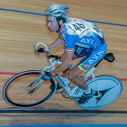 ALKMAAR (NED) wielrennen<br />NK Baanwielrennen ; mannen 2004,; Klassement; Danny Stam