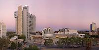 San Jose City Hall at Sunset. (32088 x 16324 pixels)