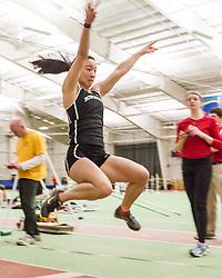 Bowdoin Indoor 4-way track meet: womens long jump