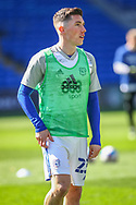 Cardiff City's Harry Wilson (23) during the pre-match warm-up before the EFL Sky Bet Championship match between Cardiff City and Nottingham Forest at the Cardiff City Stadium, Cardiff, Wales on 2 April 2021.