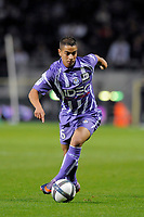 FOOTBALL - FRENCH CHAMPIONSHIP 2010/2011 - L1 - TOULOUSE FC v PARIS SAINT GERMAIN - 16/10/2010 - PHOTO JEAN MARIE HERVIO / DPPI - WISSAM BEN YEDDER (TFC)