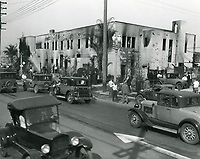 1929 Consolidated Film Industries on Melrose Ave (after a fire)