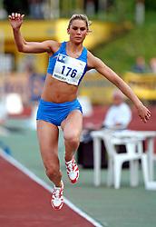 Athlete Snezana  Vukmirovic - Rodic at 2nd Memorial Meeting of Matic Sustersic, on June 3, 2007, Ljubljana, Slovenia.   (Photo by Vid Ponikvar / Sportal Images).