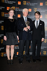 Holliday Grainger and Daniel Radcliffe at the Orange British Academy Film Awards Nominations announcement,London, Tuesday January 17, 2011. Photo By i-Images