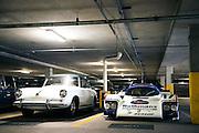 March 11-13, 2016 Amelia Island. Porsche 962 in the garage