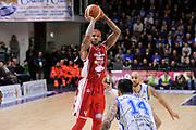 DESCRIZIONE : Campionato 2014/15 Dinamo Banco di Sardegna Sassari - Giorgio Tesi Group Pistoia<br /> GIOCATORE : Gilbert Brown<br /> CATEGORIA : Tiro Tre Punti<br /> SQUADRA : Giorgio Tesi Group Pistoia<br /> EVENTO : LegaBasket Serie A Beko 2014/2015<br /> GARA : Dinamo Banco di Sardegna Sassari - Giorgio Tesi Group Pistoia<br /> DATA : 01/02/2015<br /> SPORT : Pallacanestro <br /> AUTORE : Agenzia Ciamillo-Castoria / Luigi Canu<br /> Galleria : LegaBasket Serie A Beko 2014/2015<br /> Fotonotizia : Campionato 2014/15 Dinamo Banco di Sardegna Sassari - Giorgio Tesi Group Pistoia<br /> Predefinita :
