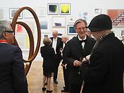 NIGEL HALL; RON ARAD, Royal Academy of Arts Annual Dinner. Burlington House, Piccadilly. London. 6 June 2017